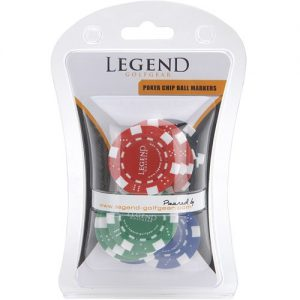 Legend Poker Chip Ball Markers