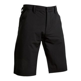 Backtee Mens Performance Shorts Black