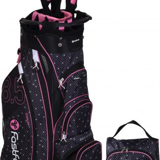 Fastfold cartbag black, pink