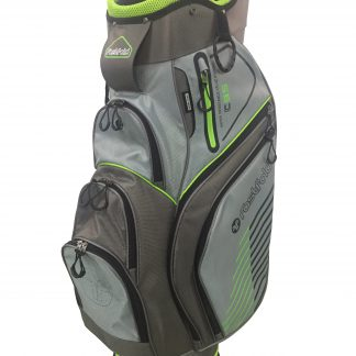 Fastfold cartbag light grey, grey, lime