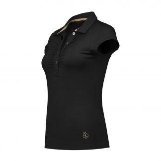 par69 bien short sleeve polo black