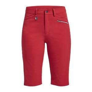 Röhnisch comfort stretch bermuda rood