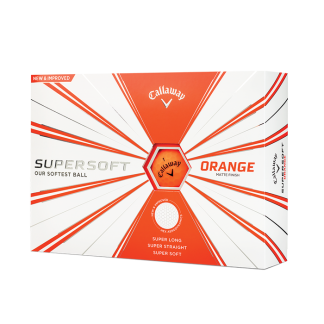 Callaway ballen supersoft oranje