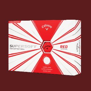 Callaway ballen supersoft rood