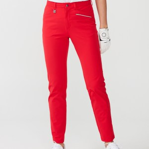 Rönisch dames comfort stretch pants rood