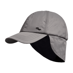 Röhnisch gevoerde winter pet (paden logo cap) dark greige