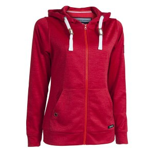 Backtee golf performance hoodie, red