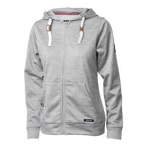 Backtee golf performance hoodie, melange grey