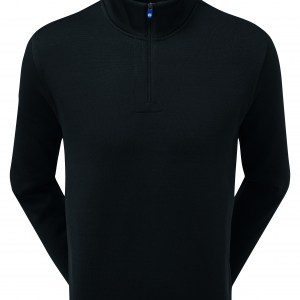Footjoy chillout pullover fleece black 90223