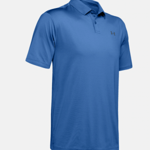 Under armour Herenpolo Performance Textured blauw (1342080)