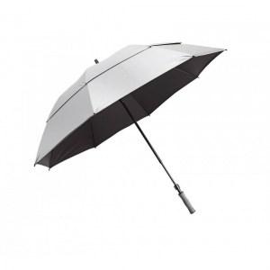 BagBoy Paraplu Telescopic UV zilver