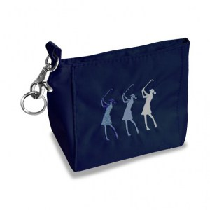 Surprizeshop Lady Golfer Hand Bag Navy