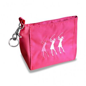 Surprizeshop Lady Golfer Hand Bag Pink