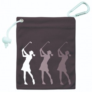 Surprizeshop Silhouette Lady Tee & Accessory Bag