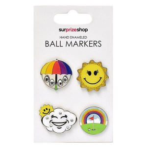 Weather Forecast Golf Ball Marker Set
