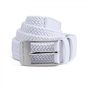 Under armour elastische riem wit