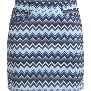 Röhnisch skort zigzag blauw (110167)