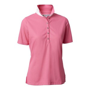 Backtee dames performance polo roze