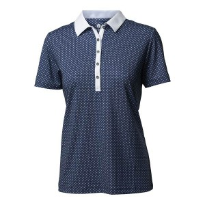 Backtee dames sporty polo navy