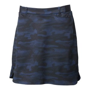 Backtee dames light weight performance skort navy camouflage