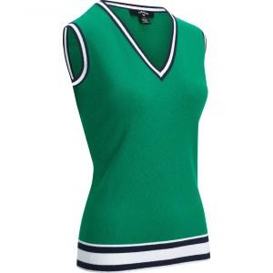 Callaway knit tank top dames golf groen