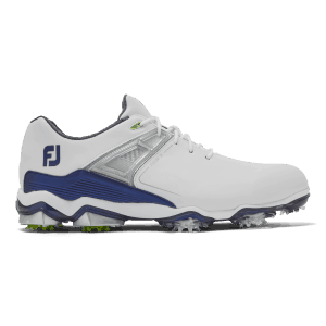 Footjoy tour X white, navy 55404