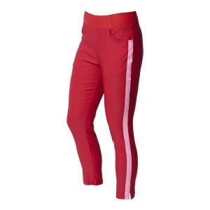 65% rayon, 32% nylon, 3% spandex moisture control stretch flexfit waist