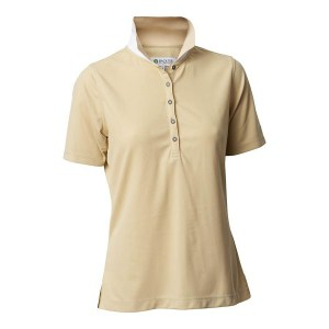 Backtee dames performance polo beige