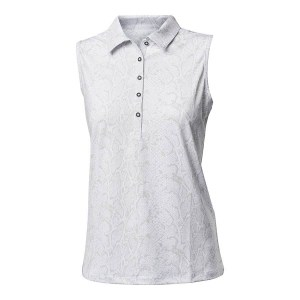 Backtee dames mouloze polo snake grijs