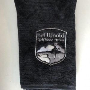 Woold Handdoek Zwart