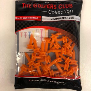 The golfers club graduated tees oranje